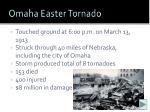 omaha easter tornado