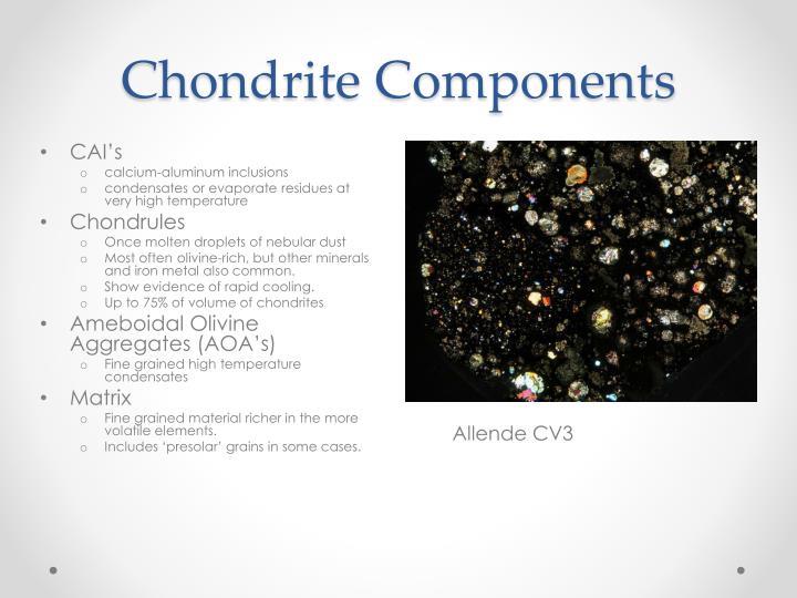 Chondrite Components
