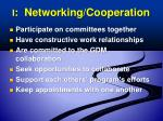 i networking cooperation