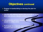 objectives continued1