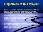 objectives of this project