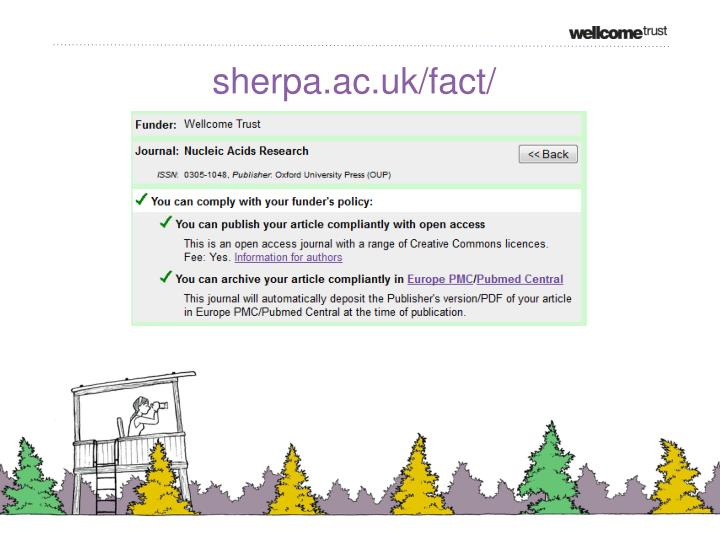 sherpa.ac.uk/fact/