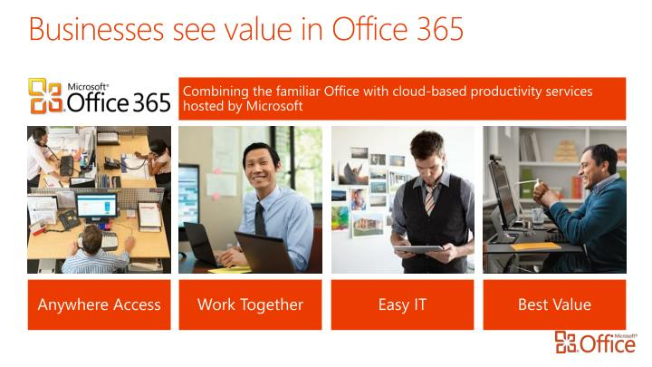 Businesses see value in Office 365