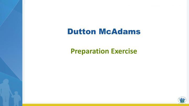 Dutton McAdams