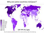 why are some countries rich poor