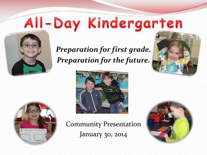 All-Day Kindergarten