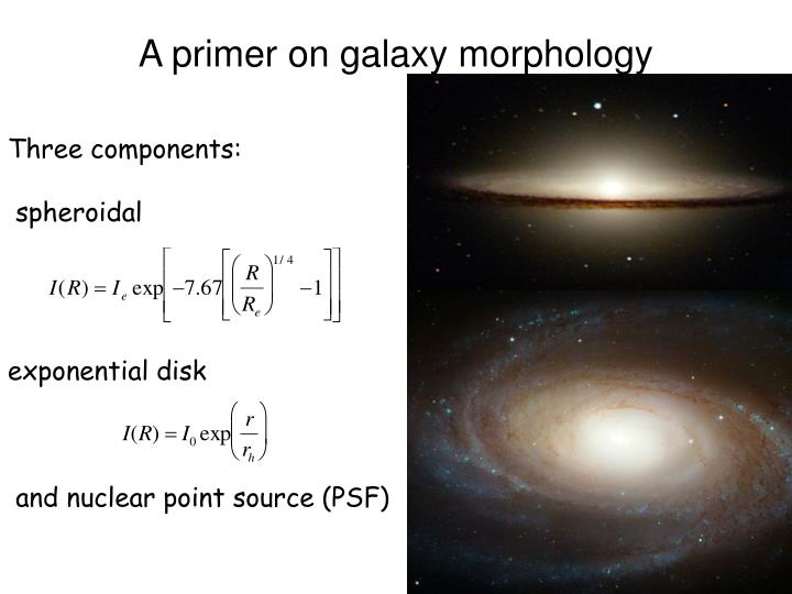 A primer on galaxy morphology