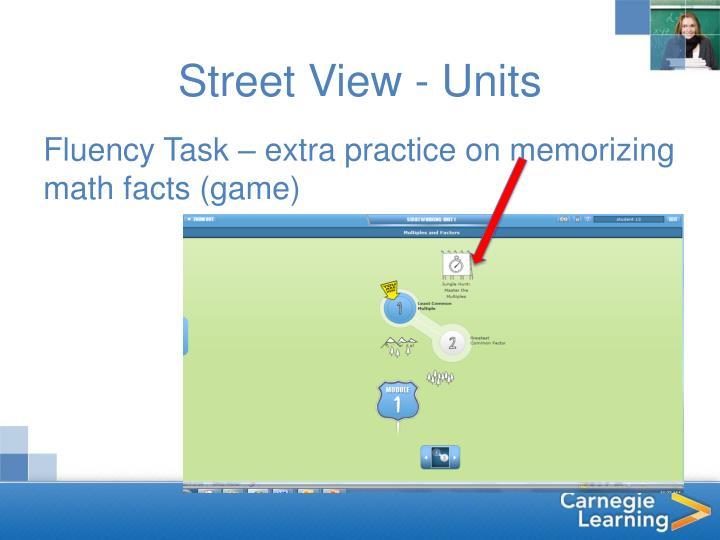 Street View - Units