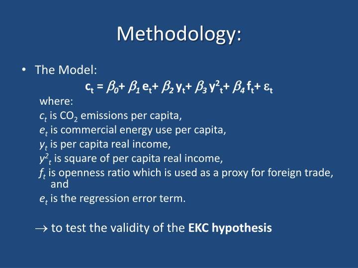 Methodology: