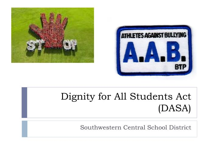 Dignity for all students act dasa