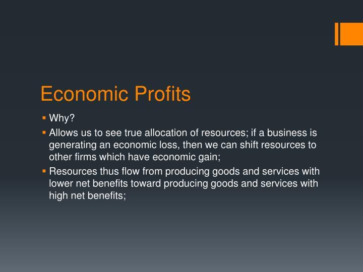 Economic Profits