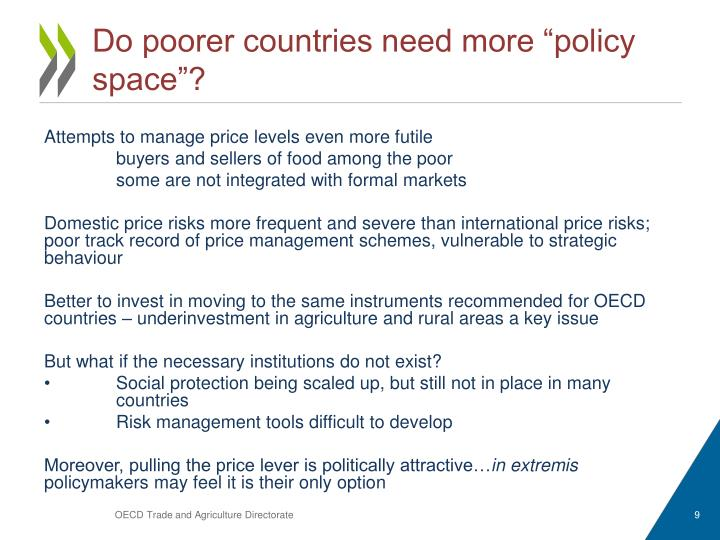 "Do poorer countries need more ""policy space""?"