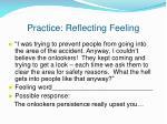 practice reflecting feeling1