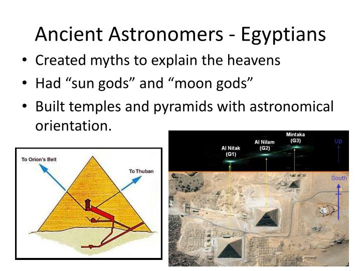 Ancient astronomers egyptians