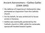 ancient astronomers galileo galilei 1564 16421