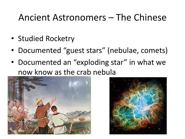 Ancient Astronomers – The Chinese