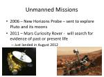 unmanned missions8