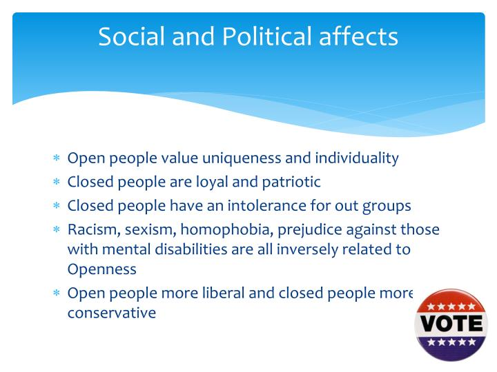Social and Political affects