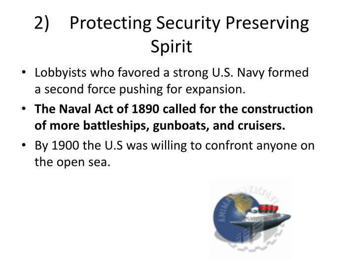 2)Protecting Security Preserving Spirit
