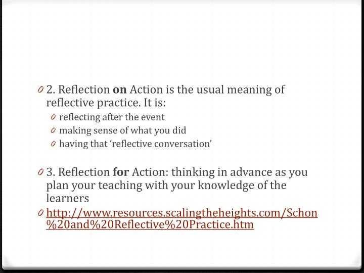 2. Reflection