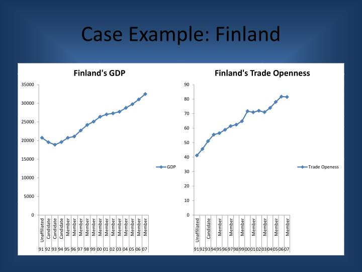 Case Example: Finland