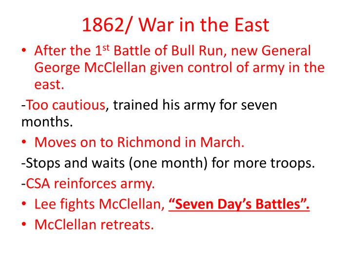 1862/ War in the East