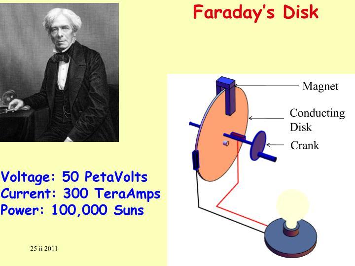 Faraday's Disk