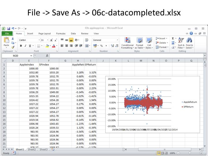 File -> Save As -> 06c-datacompleted.xlsx