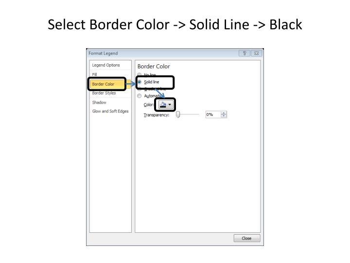 Select Border