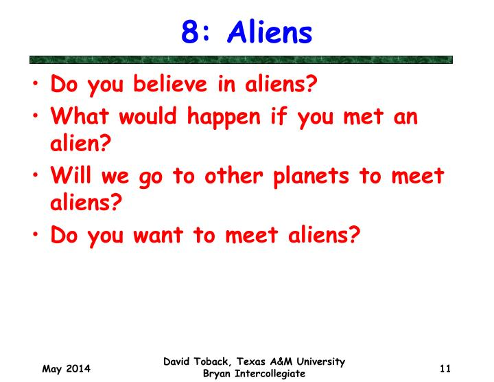 8: Aliens