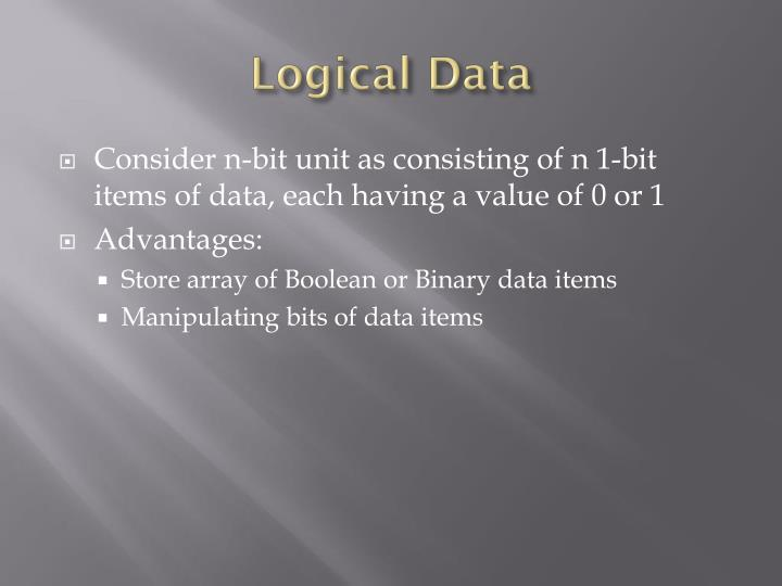 Logical Data