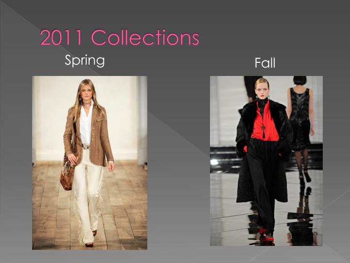 2011 Collections