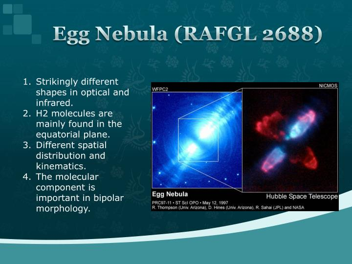 Egg Nebula (RAFGL 2688)