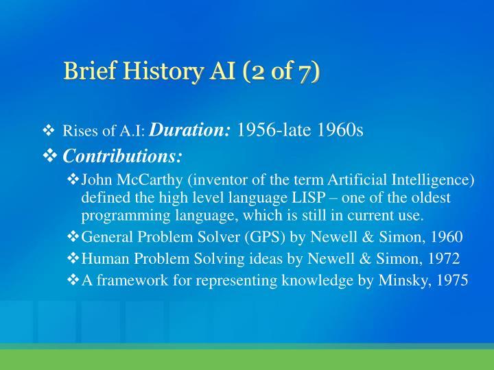 Rises of A.I: