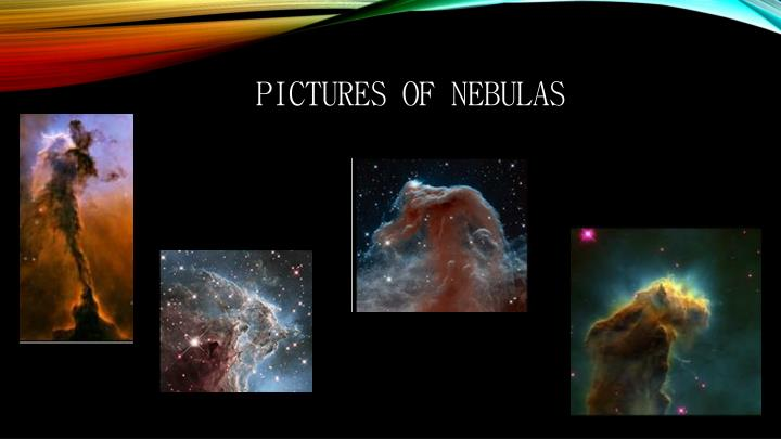 Pictures of nebulas