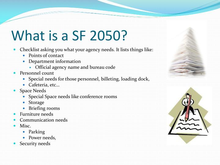 What is a SF 2050?