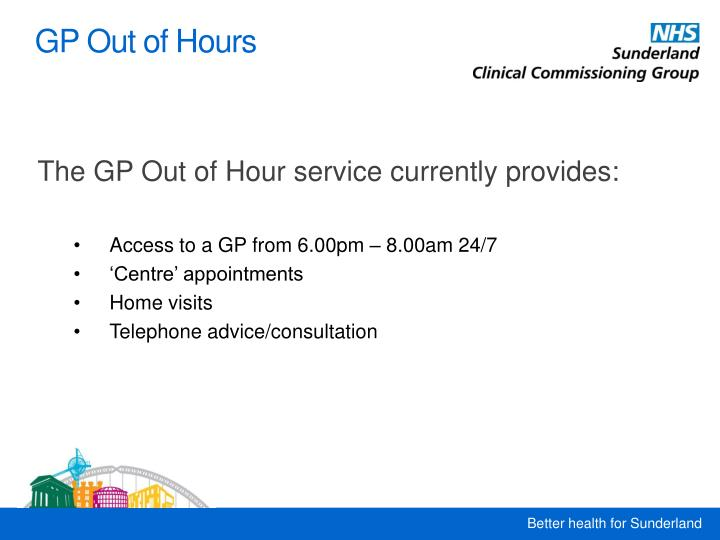 GP Out of Hours