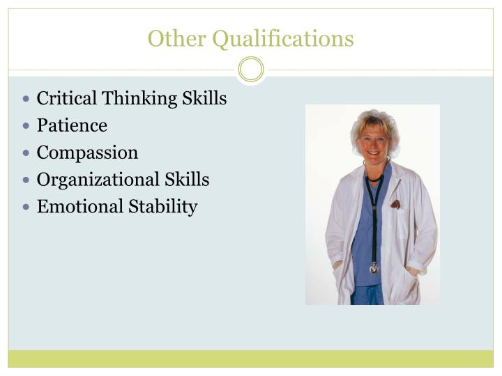 Other Qualifications