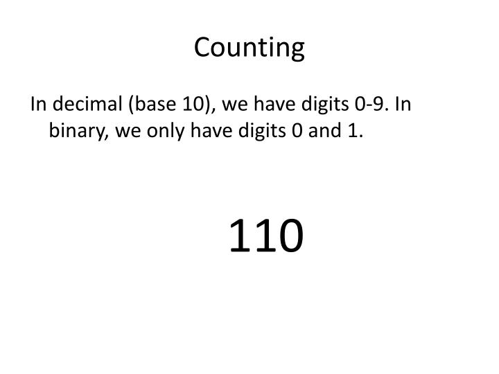 Counting