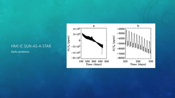 HMI IC sun-as-a-star