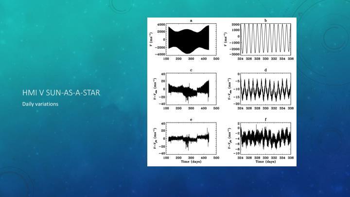 HMI V sun-as-a-star