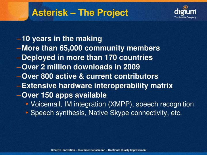 Asterisk – The Project