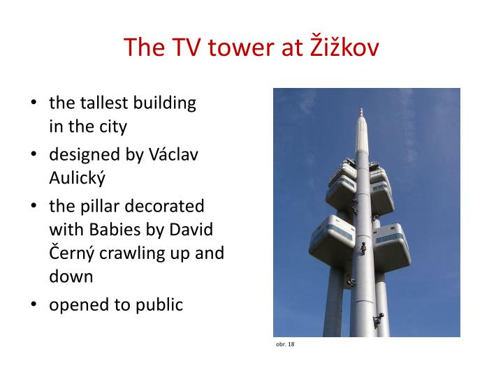 The TV tower at