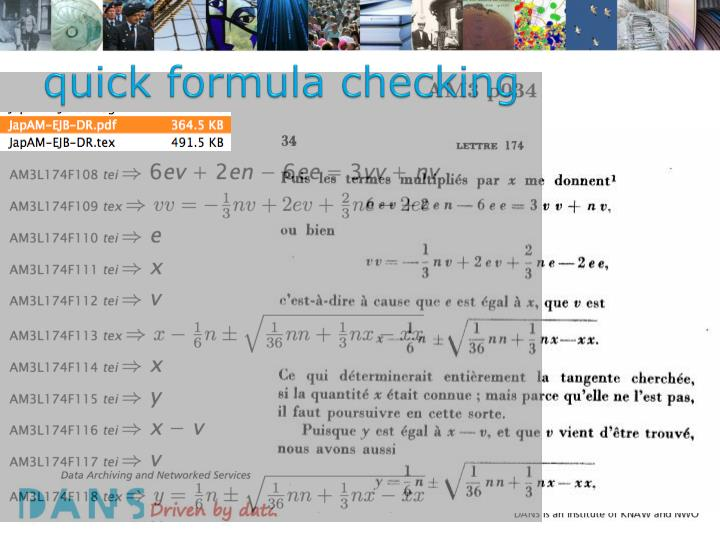 quick formula checking