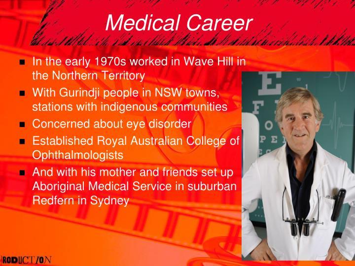 Medical Career