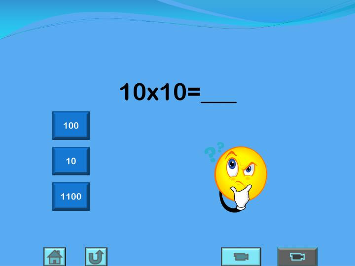 10x10=___