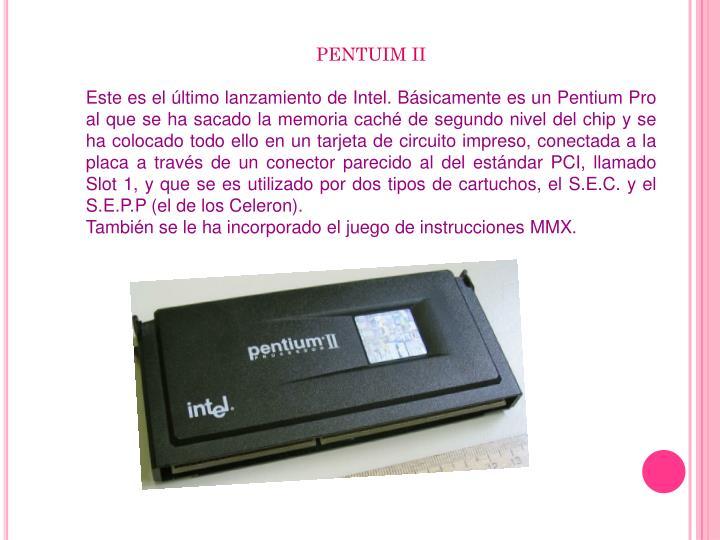 PENTUIM II