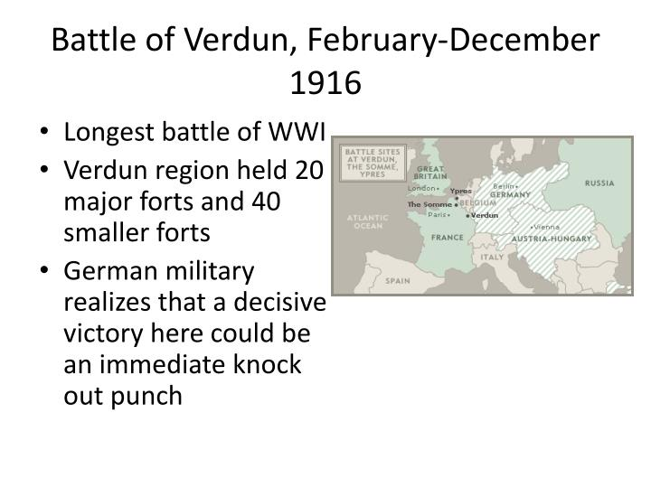 Battle of Verdun, February-December 1916