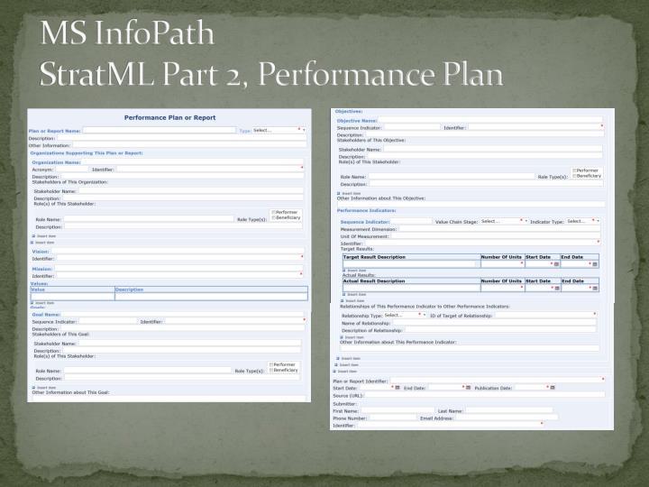 MS InfoPath