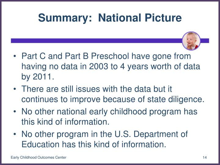 Summary:  National Picture